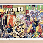 Mike Mew; Space Western #1; Courtesy of Michael Warren Contemporary - rePOPulated: contemporary perspectives on pop art at the Arvada Center