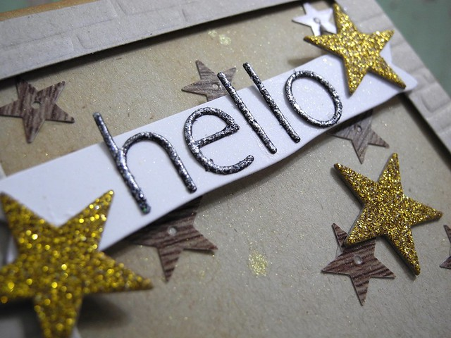 Starry Hello (detail)