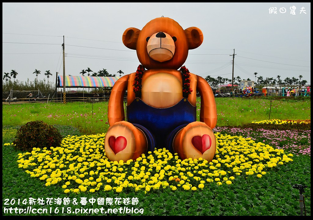 2014新社花海節&臺中國際花毯節DSC_5058
