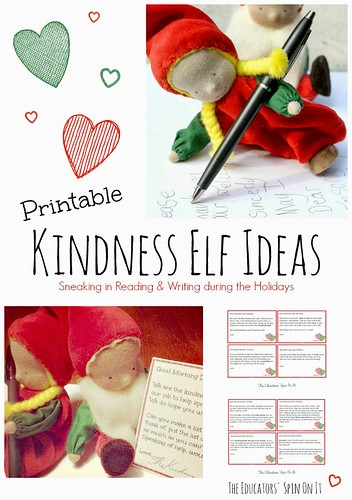 Printable Kindness Elf Ideas (Image from The Educators' Spin On It)