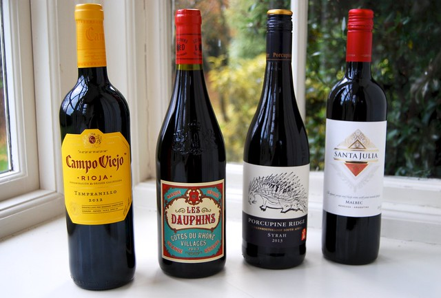 4 Really Great Red Wines Under £10