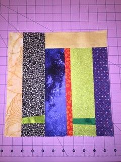 Block 2, quilts one and two.