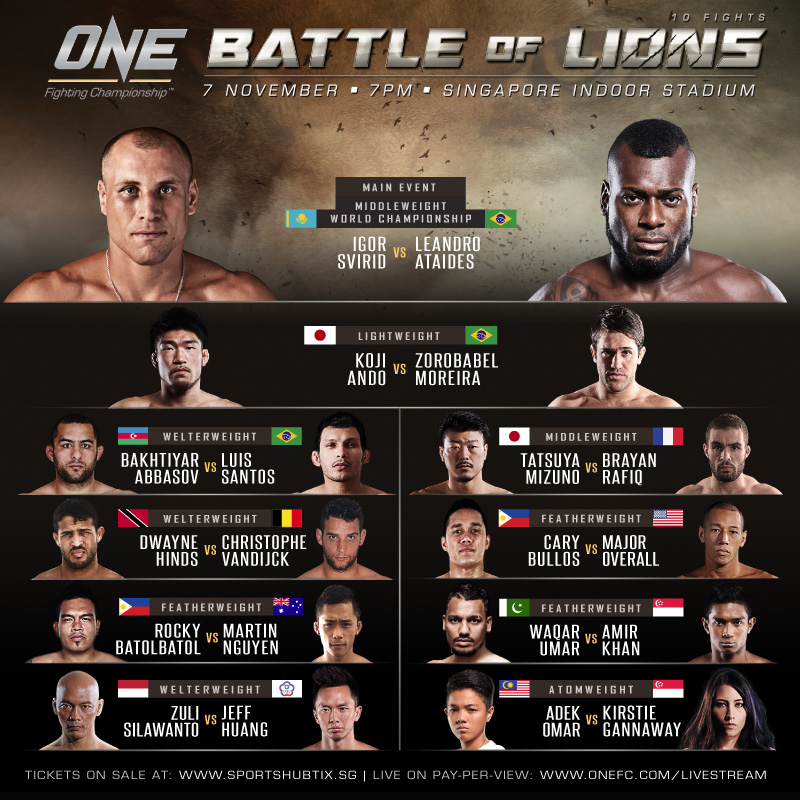 One FC Singapore 2014