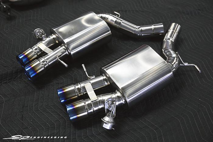 TiTek Titanium Axleback Exhaust for M5 / M6