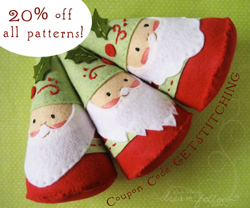 20% off all PDF patterns!