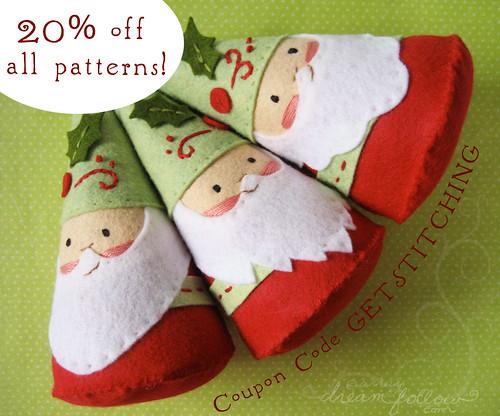 20% off all PDF patterns!