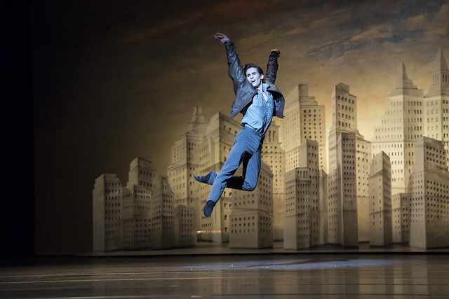 Tristan Dyer in Liam Scarlett's The Age of Anxiety ©ROH.Bill Cooper 2014