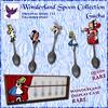 [ free bird ] Wonderland Spoon Collection Ad