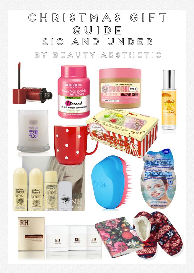 Christmas Gift Guide 2014: £10 and Under