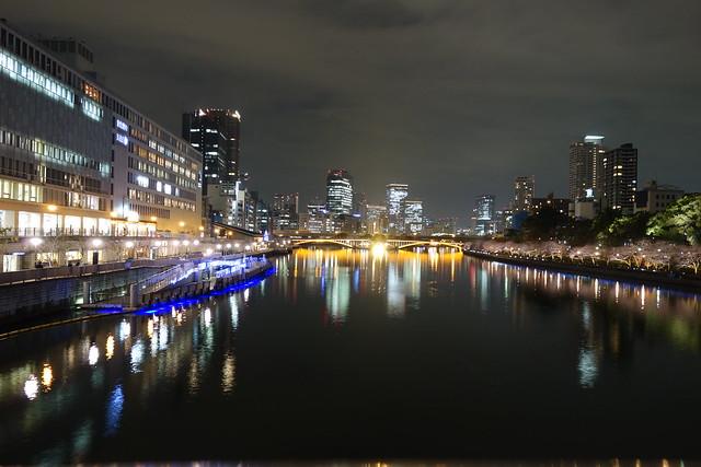 天満橋夜景