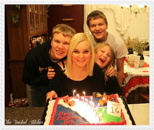 Katie 16 Birthday 2013