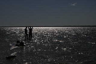 The end of a peninsula on Kassari island