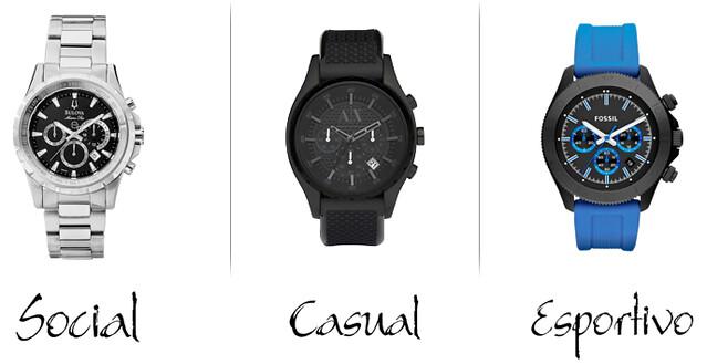 Saiba como escolher o relógio ideal para o seu estilo - Cotidiano ... 2e4e08c1c3
