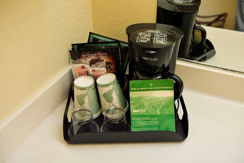 免費咖啡和沖泡機