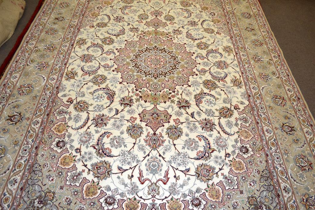 Isfahan Fine 7x10 persian Area Rug Earth Tone Color (6)