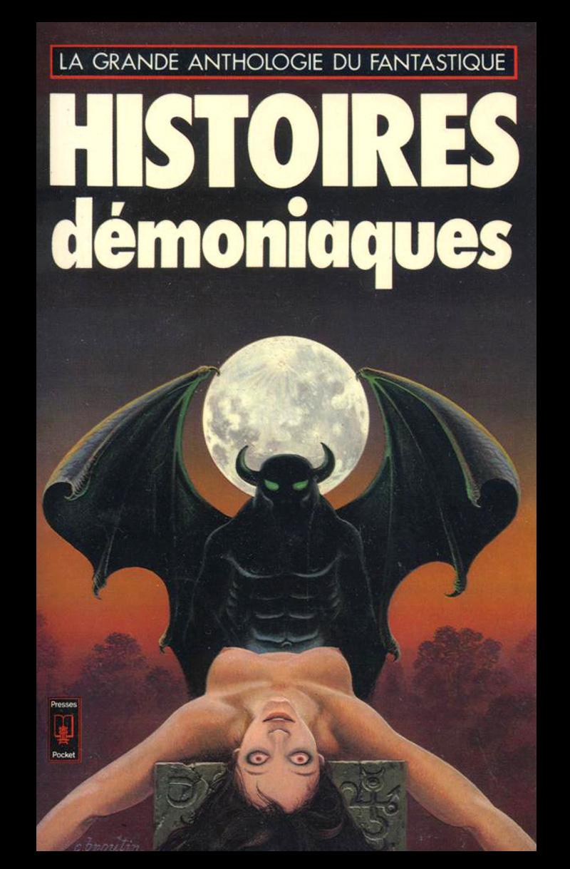 Christian Broutin - Cover Art, Histoires Démoniaques, 1977