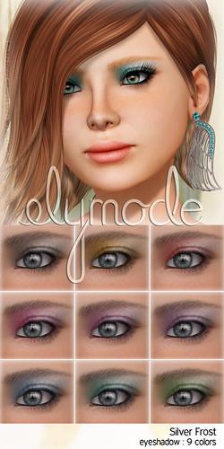 silver frost eyeshadows
