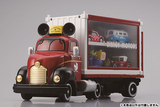 TAKARA TOMY【米奇展示貨櫃車】DISNEY MOTORS Dream Carry + Container