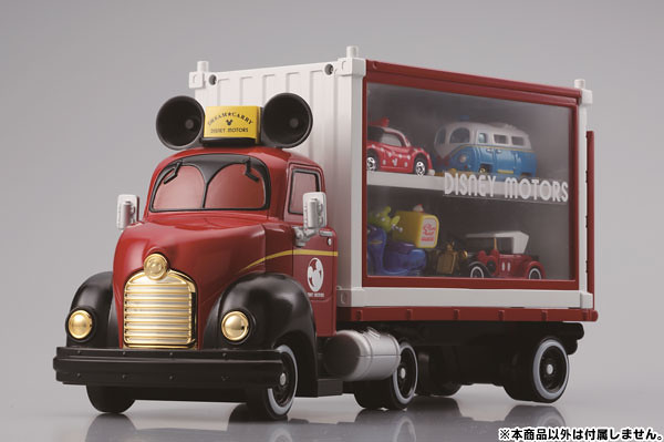 TAKARA TOMY【米奇展示貨櫃車】DISNEY MOTORS Dream Carry + Container