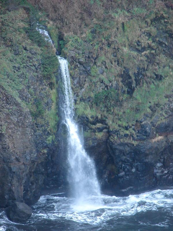 Chitwood Creek waterfall