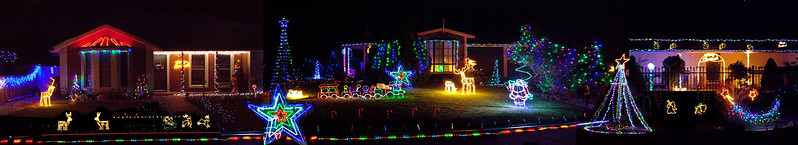 Christmas  lights 2014 pano