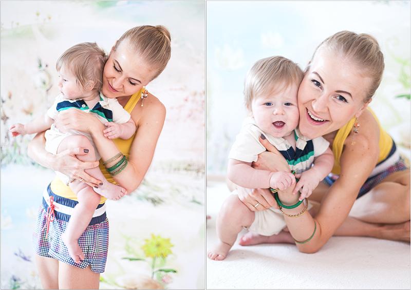 Me and my sweet baby Elina