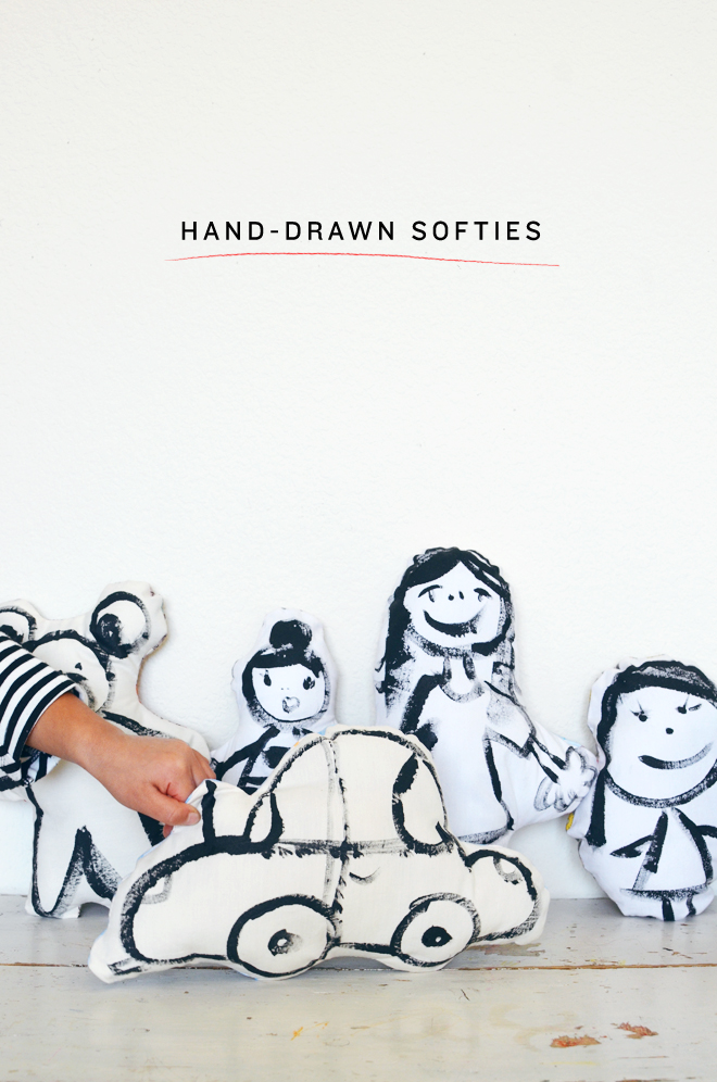 hand-drawn softies
