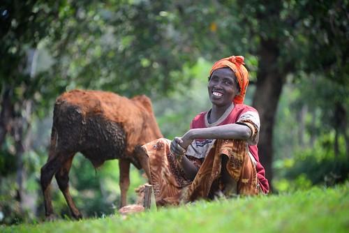 Wolayta Woman, Ethiopia