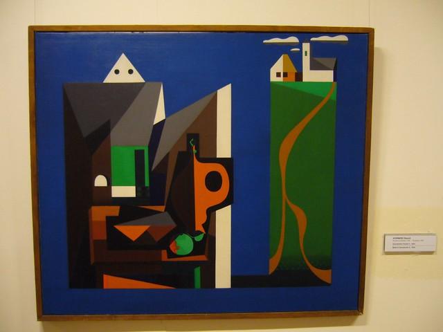 > Oeuvre surréaliste de la Galerie Nationale Hongroise de Budapest.
