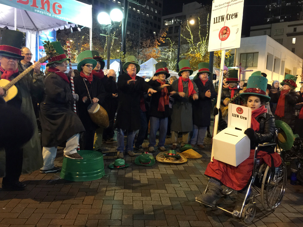 Figgy Pudding Caroling Competition 1