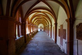 Bronnbach monastery interior