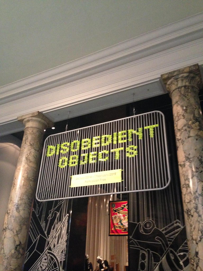 Disobediente Objects, Victoria & Albert Museum