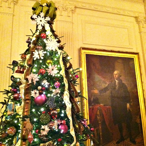 White House East Room Christmas Tree