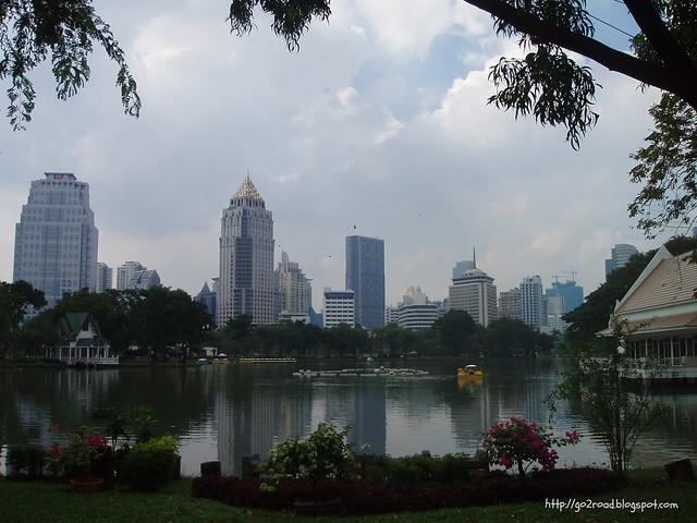 Отдых в Lumpini Park