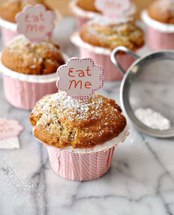 Gingerbread Muffins | www.fussfreecooking.com