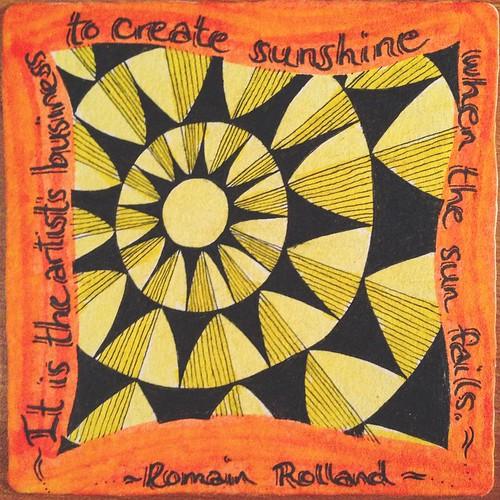 December 17 - Sunshine