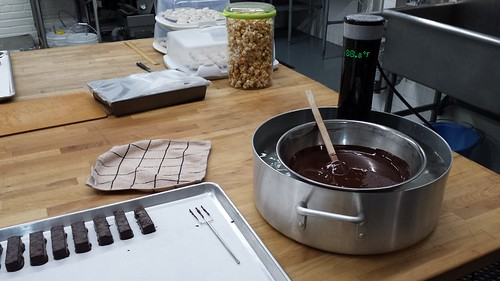 Sous Vide & Tempered Chocolate