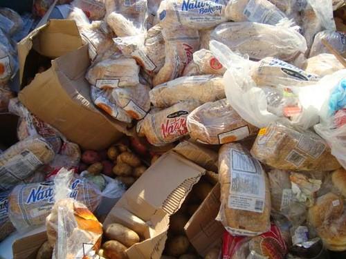 人類浪費了大量的食物。圖片來源:楊宗翰