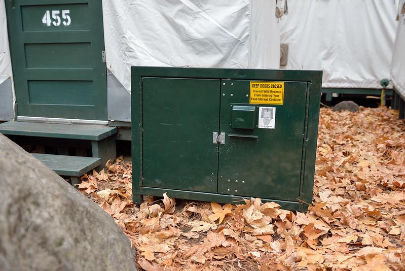 【Food Locker】有特殊的開關設計,可以避免被熊破壞