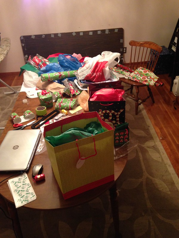 Wrapping chaos