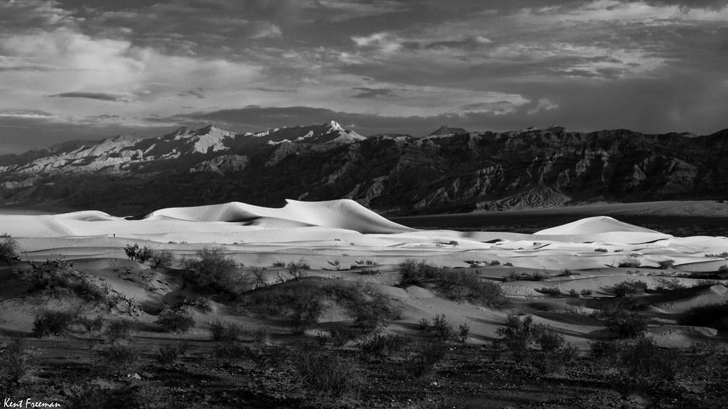 Mesquite Flats Sand Dunes Death Valley National Park