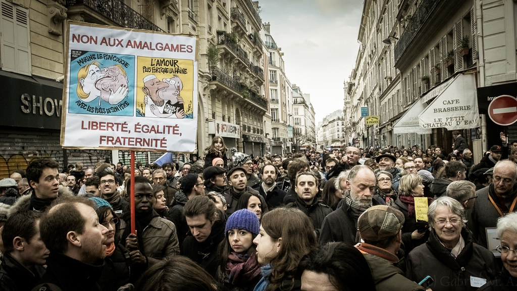 ''Non aux Amalgames'' de Gabriel M.A., sur Flickr
