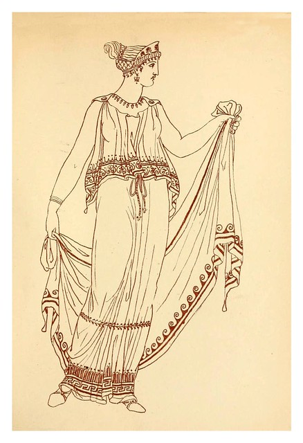 009-Ancient Greek female costume…1881- J. Moyr Smith