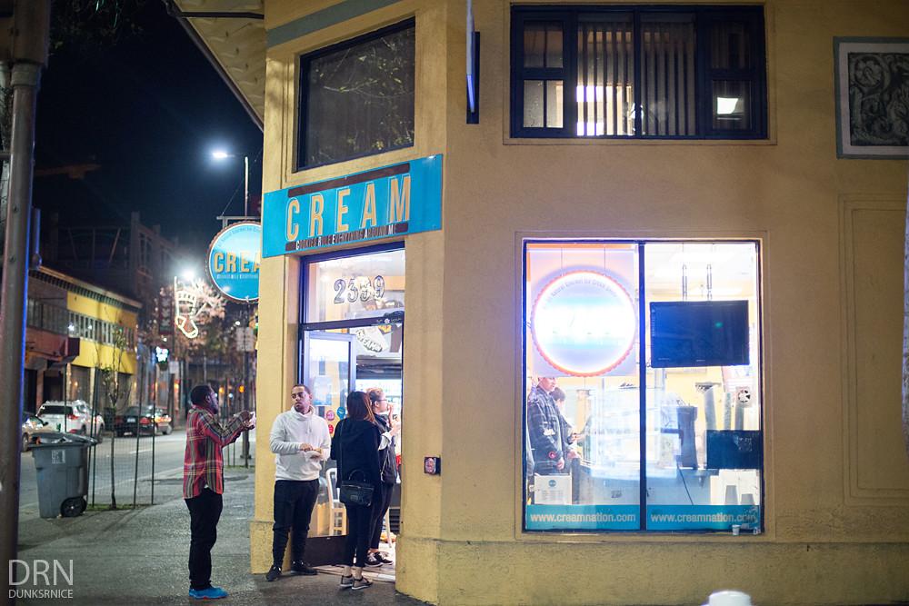 Cream.