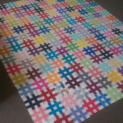 We have a layout! My 6 & 10 year olds just asked what I was making? I just explained the whole story of how @molli_sparkles and the world of quilters have come together and who the quilts were for and why. They were both very impressed and thought it was