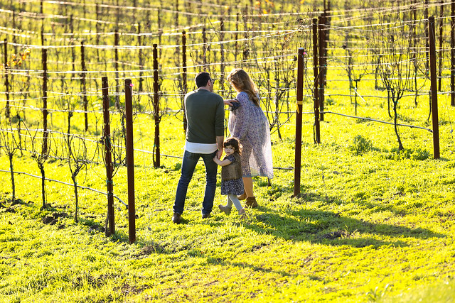 Family at Scribe Winery from Flickr via Wylio