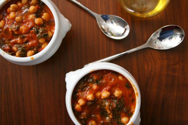 chickpea spinach stew 2