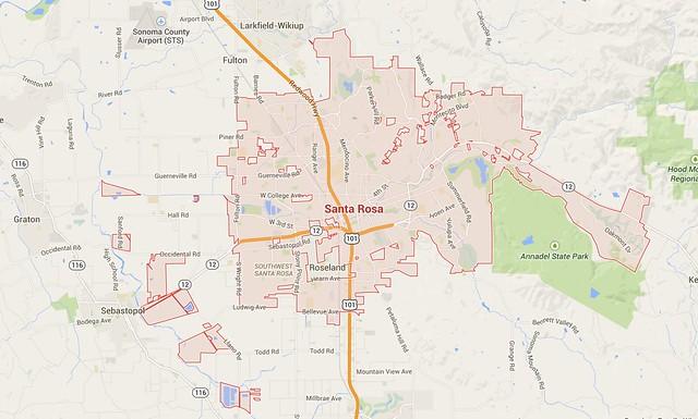 Santa Rosa Boundary