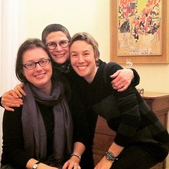 What a great way to start 2015! With @mykugelhopf and @doriegreenspan ❤️