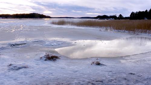 winter sea espoo finland geotagged december balticsea u fin seashore 2014 uusimaa nyland esbo soukanlahti 201412 20141231 geo:lat=6013865227 geo:lon=2464838505